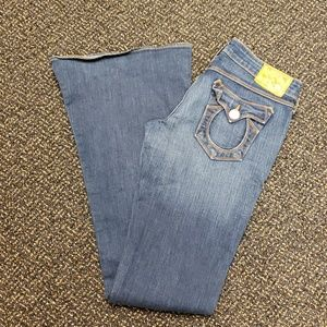 True Religion Distressed Carrie Jeans